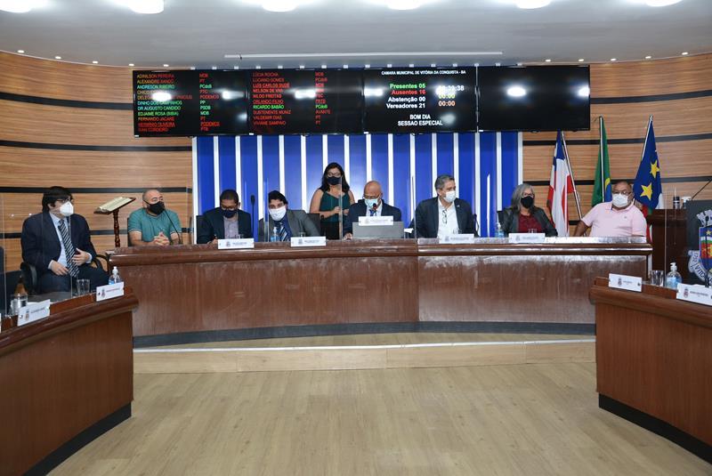 Imagem Câmara apoia reivindicação de moradores por regularização das Vilas Serranas