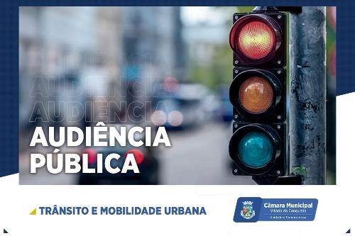 Imagem Câmara discute trânsito e mobilidade urbana em audiência pública