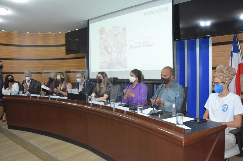 Imagem Centenário de Paulo Freire é festejado em audiência pública na Câmara de Vereadores
