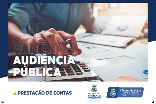 Imagem Câmara e prefeitura realizam audiência de prestação de contas do 2º quadrimestre nesta terça