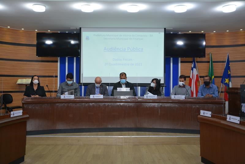 Imagem Câmara e Prefeitura prestam contas do segundo quadrimestre