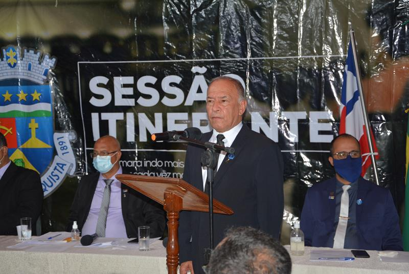 Imagem Hermínio Oliveira destaca ações do mandato na região do Iguá