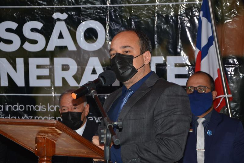 Imagem Delegado Marcus Vinícius destaca preocupação com a falta d'água em Conquista