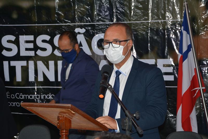 """Imagem Valdemir Dias destaca papel do Legislativo: """"O vereador não executa. Ele cobra ações"""""""