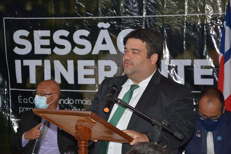 """Imagem """"O PT ficou 20 anos governando Vitória da Conquista e não resolveu a questão da oferta de água na Zona Rural"""", criticou Ivan Cordeiro"""