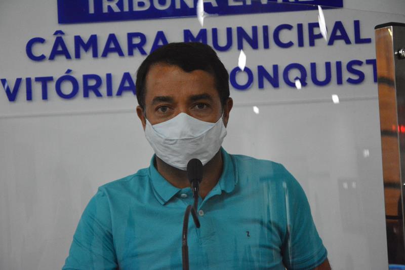 Imagem Líder Comunitário faz uso da Tribuna Livre e tece duras críticas ao Governo Municipal