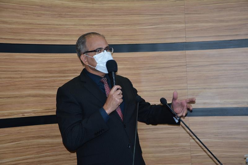 Imagem Dr. Augusto Cândido defende ética e decoro na Câmara