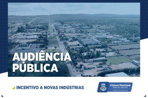 Imagem Câmara promove audiência para debater indústria, comércio e turismo