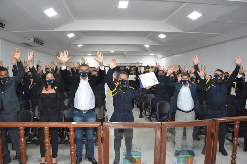 Imagem Câmara celebra Dia da Guarda Municipal em audiência pública