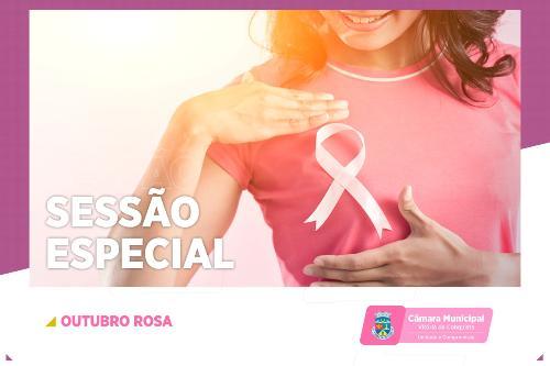 Imagem Câmara promove Sessão Especial do Outubro Rosa nesta sexta