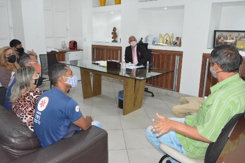 Imagem Em reunião na Câmara, servidores do Samu 192 buscam melhorias salariais
