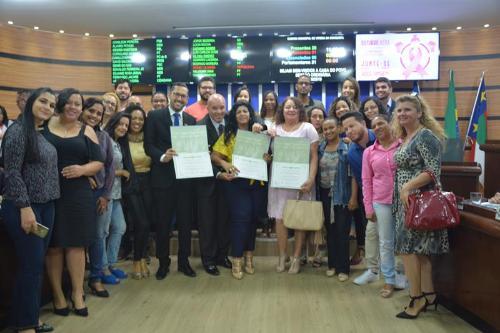 Imagem Equipe do Bolsa Família Móvel é homenageada na Câmara