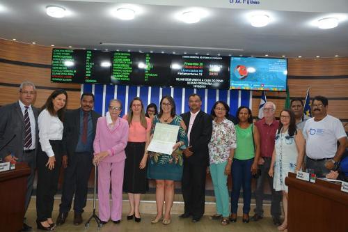 Imagem Câmara Municipal concede Moção de Aplauso ao Conselho Municipal de Saúde
