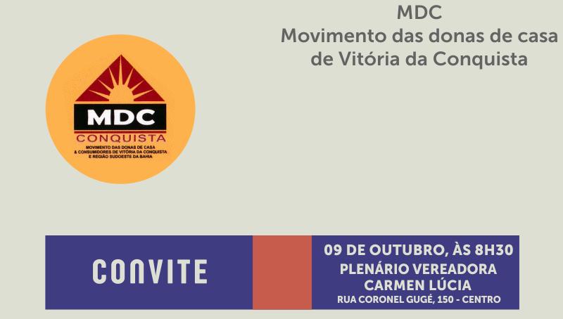 Imagem SESSÃO ESPECIAL: Câmara homenageia MDC Conquista pelo aniversário de 10 anos