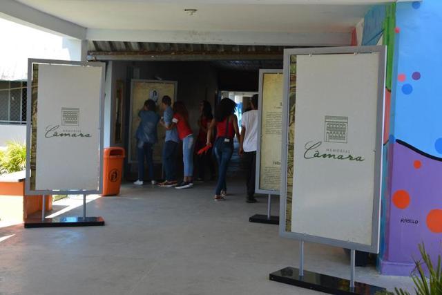 Imagem Câmara Municipal leva Memorial Itinerante para Escola Normal