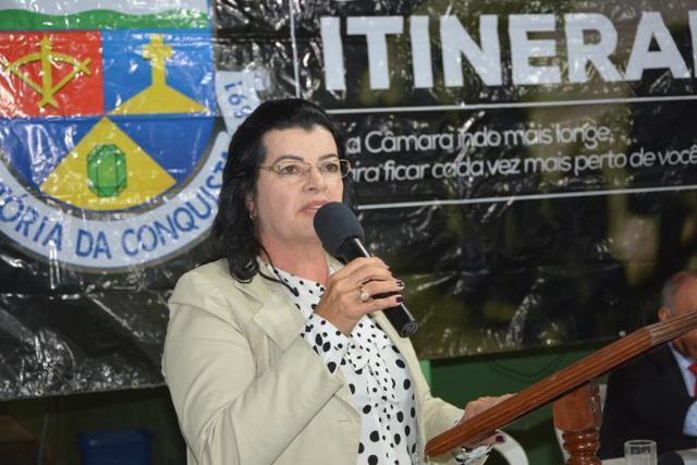 Imagem Lúcia Rocha destaca ações do seu mandato em prol do distrito José Gonçalves