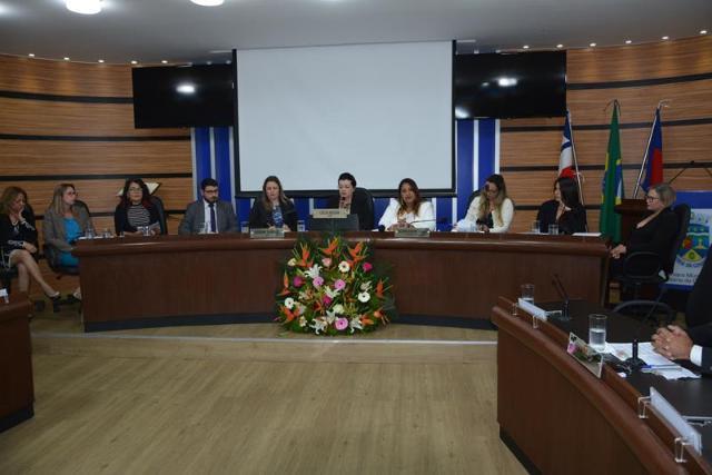 Imagem AUDIÊNCIA PÚBLICA: Câmara discute 11 anos da Lei Maria da Penha