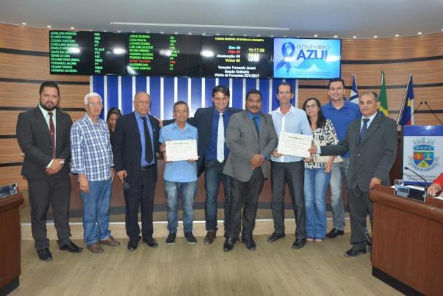 Imagem Câmara parabeniza organizadores da 22ª Edição do Campeonato de Futebol Society do Bairro Guarani
